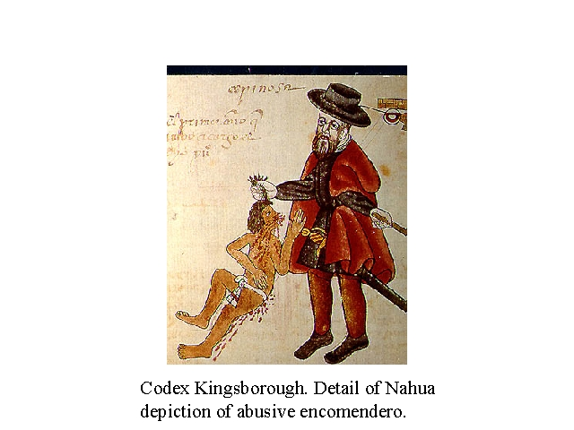 Codex Kingsborough. Details of Nahua depiction of an abusive encomendero..jpg