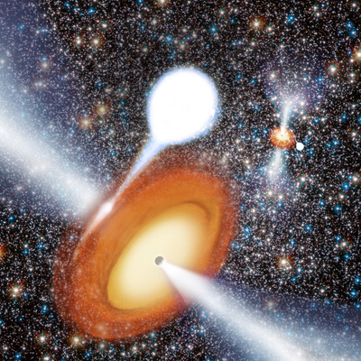Two black holes in star cluster_COSMOS Science Magazine.jpg